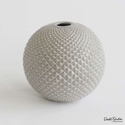Picture for Diamond Cut Globe Vase by Global Views