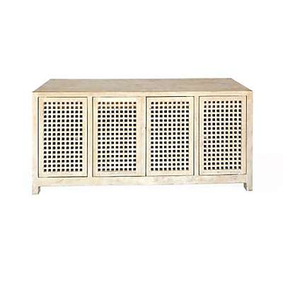 Picture for Driftwood Lattice Credenza by Global Views