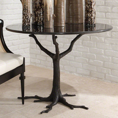 Picture of Faux Bois Dining Table by Global Views