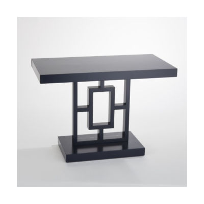 Picture of Grid Block Side Table by Global Views
