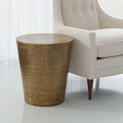 Picture for Izmir Hammered Side Table by Global Views