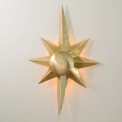 Picture for Klismos Star Sconce by Global Views