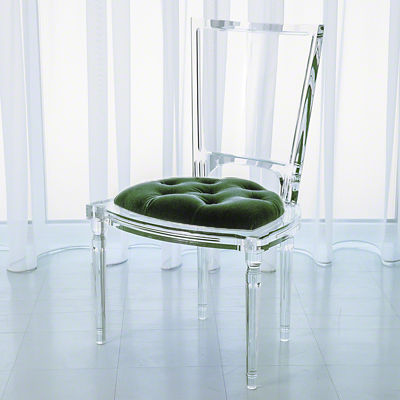 Picture of Marilyn Acrylic Side Chair by Global Views