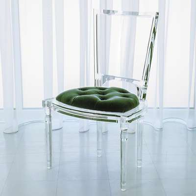 Picture for Marilyn Acrylic Side Chair by Global Views