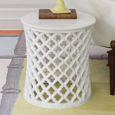 Picture for Marble Arabesque Side Table by Global Views