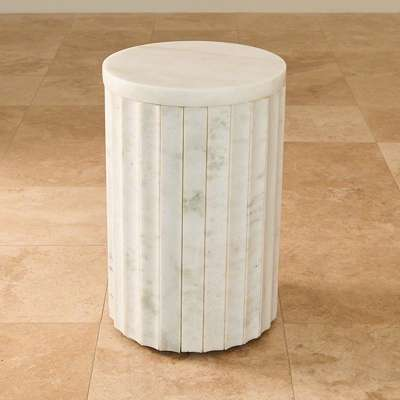 Picture for Marble Column Table by Global Views