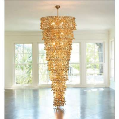 Picture for Sprocket Chandelier by Global Views