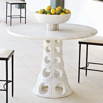 Picture for Taper Circle Dining Table by Global Views