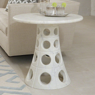 Picture of Taper Circle Side Table by Global Views