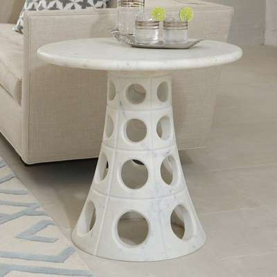 Picture for Taper Circle Side Table by Global Views
