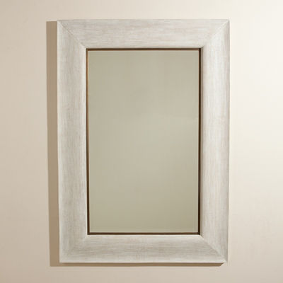 Picture of Toile Linen Mirror by Global Views