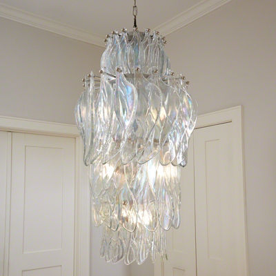 Picture of Winged Chandelier by Global Views
