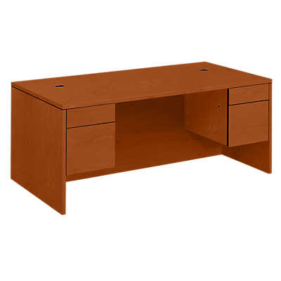 Picture of 10500 Series Rectangle Pedestal Desk 4 by Hon