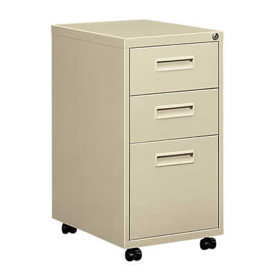 Picture of Hon Embark 2 Drawer, 1 File Pedestal by Hon