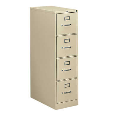 "Picture of 310 4-Drawer Letter File by Hon, 52"" x 15"" x 26"""