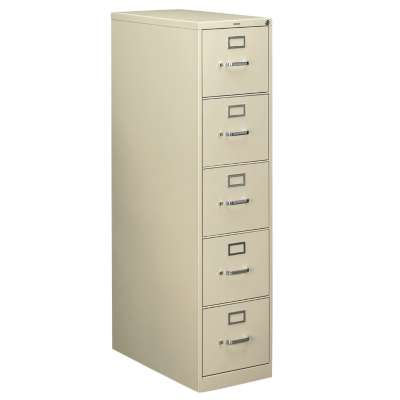 "Picture for 310 5-Drawer Letter File, 60"" x 15"" x 26"" by HON"