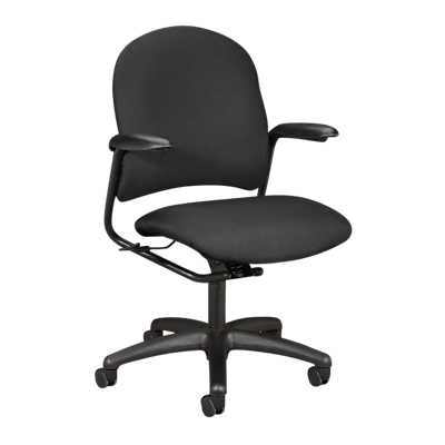 Picture of Alaris Mid Back Chair with Arms