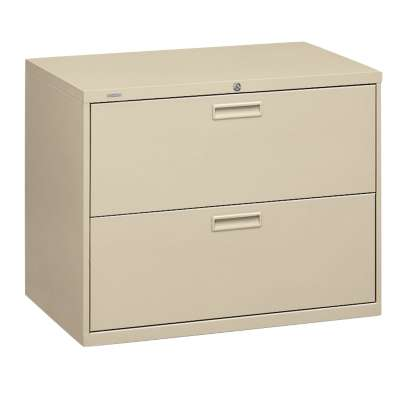 "Picture for Basyx 400 2-Drawer Lateral File by HON, 30"" Wide"