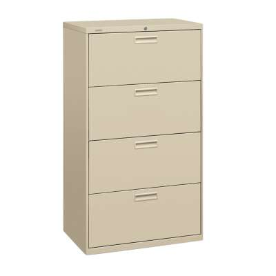 "Picture for Basyx 400 4-Drawer Lateral File by HON, 30"" Wide"
