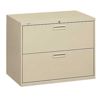 "Picture of Basyx 400 2-Drawer Lateral File, 36"" Wide by HON"