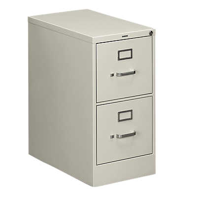"Picture of Hon 510 2-Drawer Letter File by Hon, 29"" x 15"" x 25"""