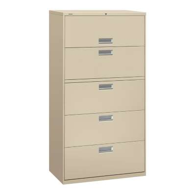 "Picture for Brigade 600 5-Drawer Lateral File, 36"" Wide by HON"