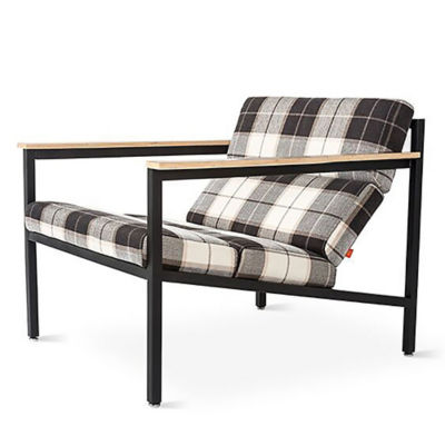 HALIFAXCH-TARTAN SHADOW: Customized Item of Halifax Chair by Gus Modern (HALIFAXCH)