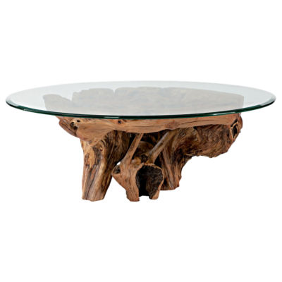 Picture of Hidden Treasures Root Ball Cocktail Table by Hammary