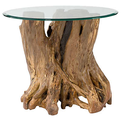 Picture of Hidden Treasures Root Ball End Table by Hammary