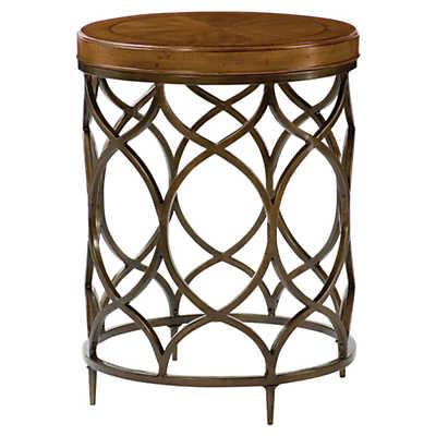 Hidden Treasures Round Lamp Table Smart Furniture
