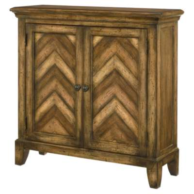 Picture for Hidden Treasures Chevron Chest by Hammary