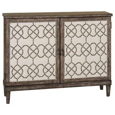 Picture for Hidden Treasures Nailhead Cabinet by Hammary