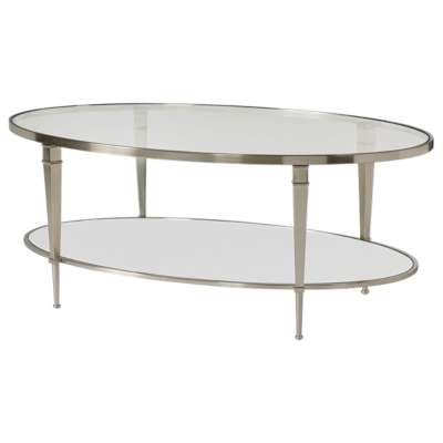 Picture for Mallory Oval Cocktail Table by Hammary