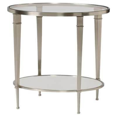 Picture for Mallory Oval Shelf End Table by Hammary