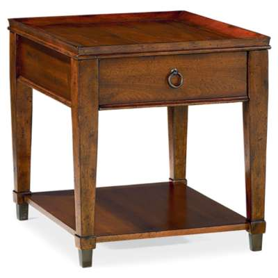 Picture for Sunset Valley Rectangular Drawer End Table by Hammary