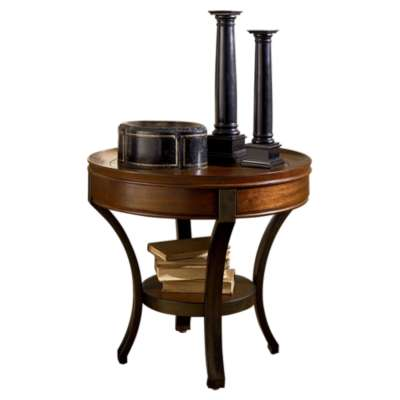 Picture for Sunset Valley Round End Table by Hammary