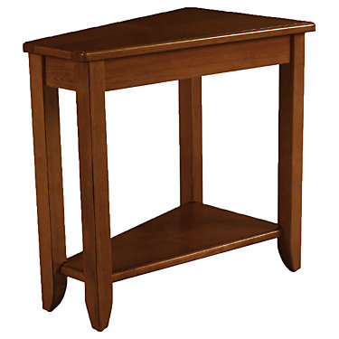 HAM200-T00220-00: Customized Item of Wedge Chairside Table by Hammary (HAM200-T002)