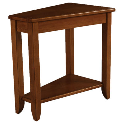Picture of Wedge Chairside Table by Hammary