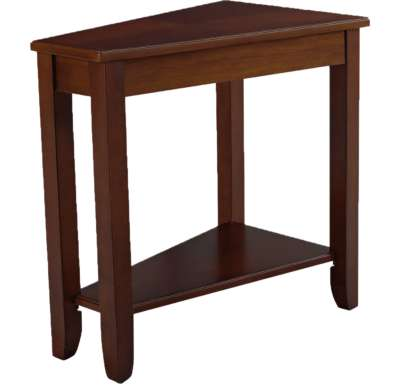 Cherry for Wedge Chairside Table by Hammary (HAM200-T002)