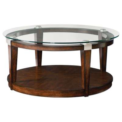 Picture for Solitaire Round Cocktail Table by Hammary