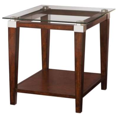 Picture for Solitaire Rectangular End Table by Hammary