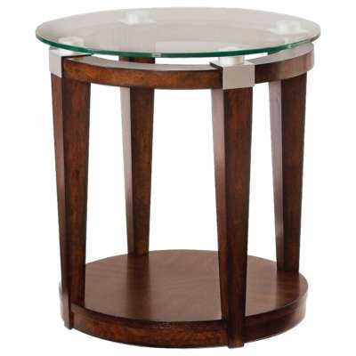 Picture for Solitaire Round Accent Table by Hammary