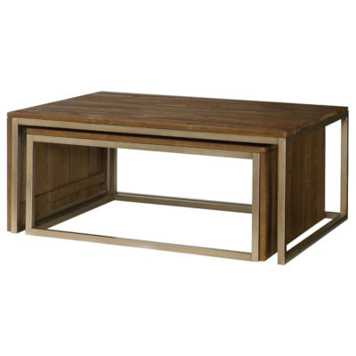 Picture of Flashback Rectangular Nesting Cocktail Table by Hammary