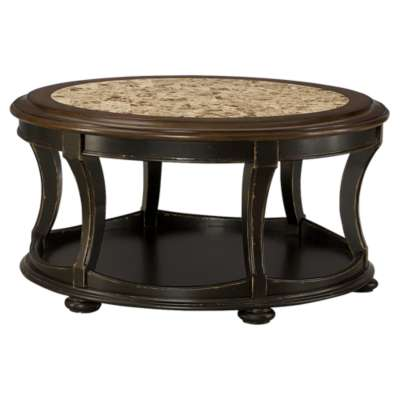 Picture for Dorset Round Cocktail Table by Hammary