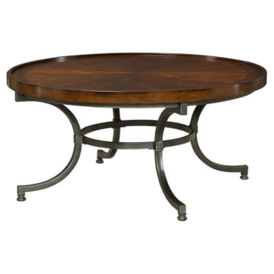 Picture of Barrow Round Cocktail Table by Hammary