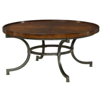 Picture for Barrow Round Cocktail Table by Hammary