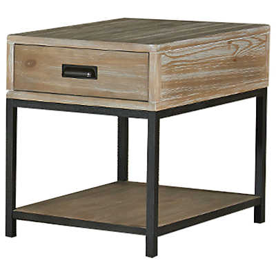Parsons Rectangular Drawer End Table Smart Furniture