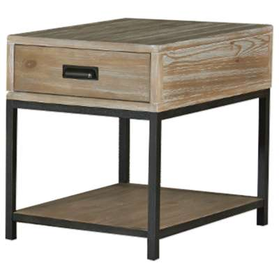 Picture for Parsons Rectangular Drawer End Table by Hammary