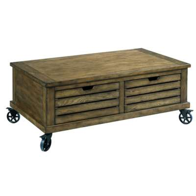 Picture for Elm Ridge Rectangular Storage Cocktail Table by Hammary