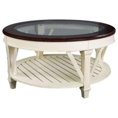 Picture for Promenade Round Cocktail Table by Hammary